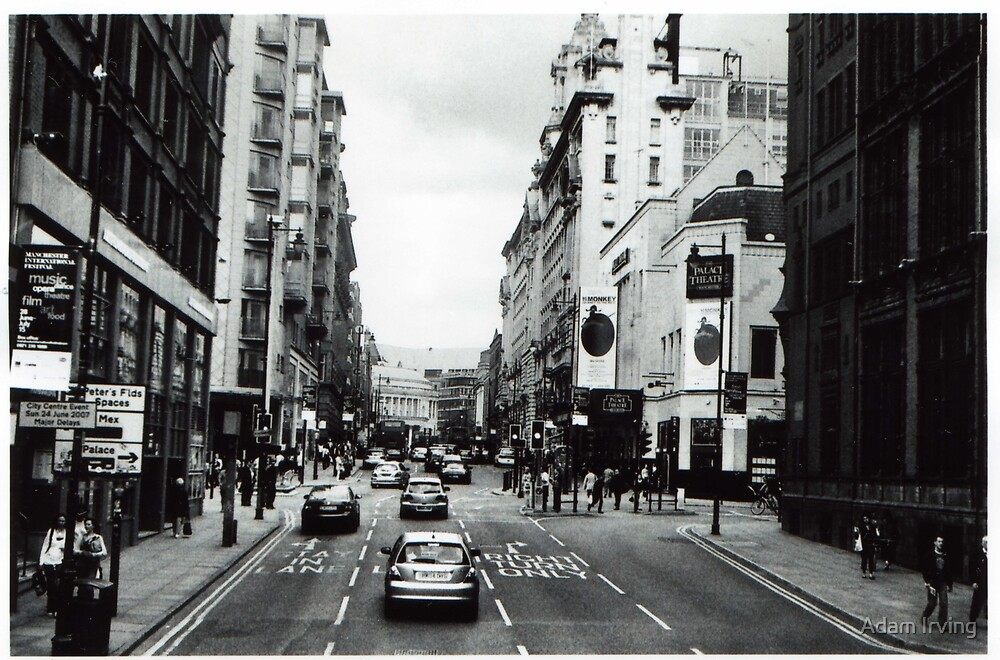 Oxford Rd, Manchester by Adam Irving