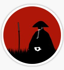 Meditating Warrior Sticker