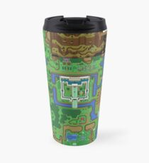 The Legend of Zelda: A Link to the Past Map Travel Mug