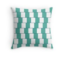 Confusing lines Throw Pillow