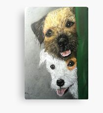 Max & Paddy  Canvas Print