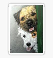Max & Paddy  Sticker