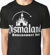 Black and white Dismaland Graphic T-Shirt