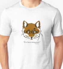 """What the Fox Say"" T-Shirt ""I've been misquoted."" -The Fox Unisex T-Shirt"