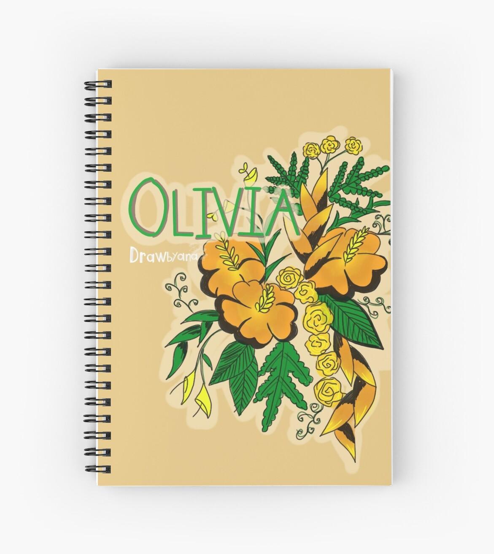 olivia by drawbyana
