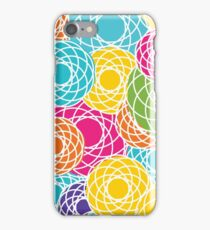 Abstract Seamless Floral Background  iPhone Case/Skin