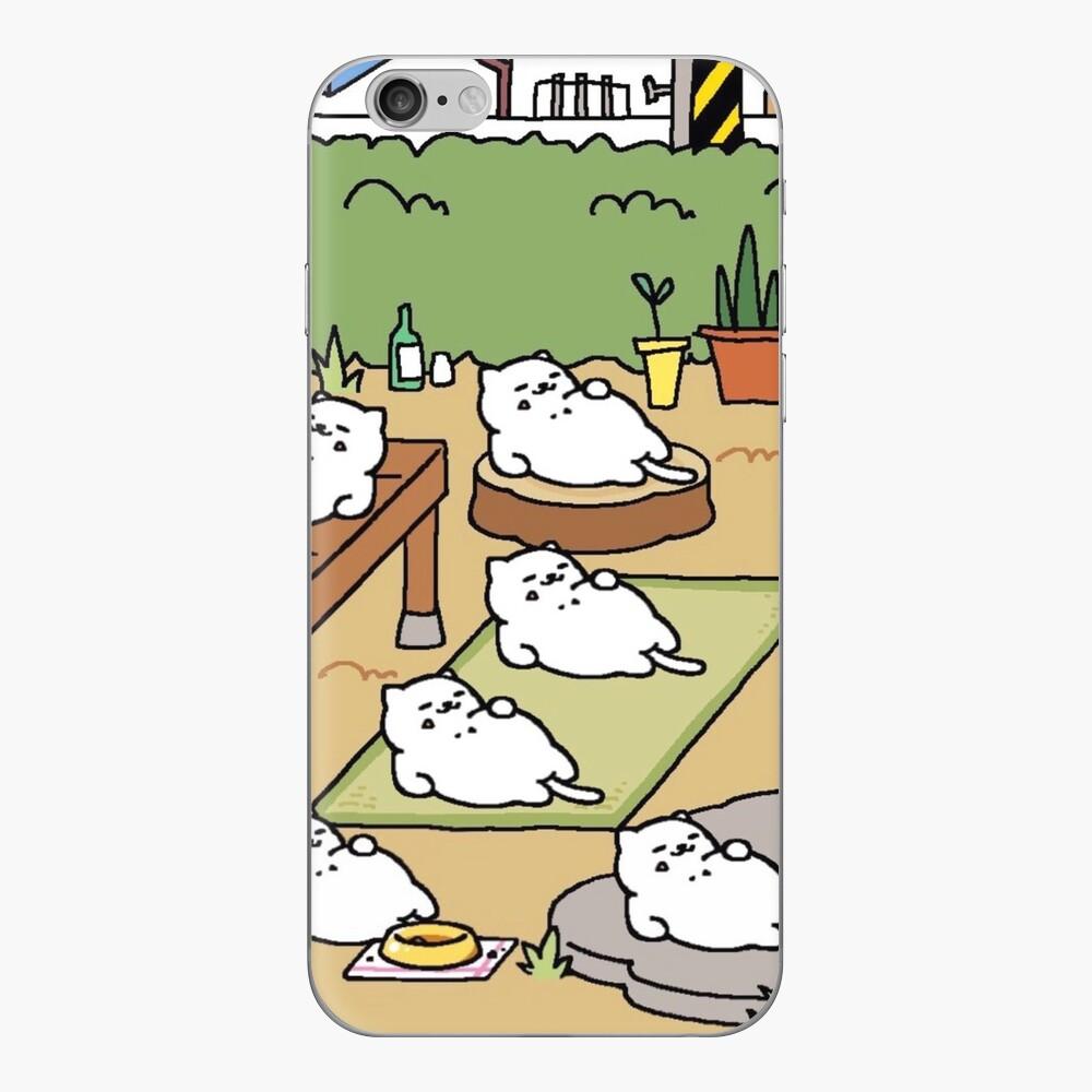 Neko Atsume - Tubbs iPhone Klebefolie