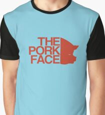 the pork face Graphic T-Shirt