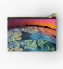 Dusk at the Red Sea Reef Studio Pouch