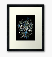 Steampunk Joker Framed Print