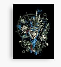 Steampunk Joker Canvas Print