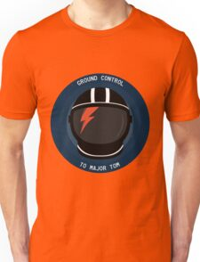 Ground Control To Major Tom - David Bowie Unisex T-Shirt