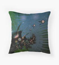 Fairy Dust Art Design Throw Pillow