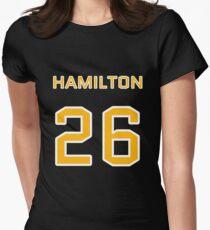 Hamilton Football (I) Women's Fitted T-Shirt