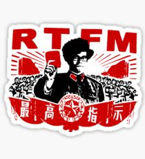 RTFM - MOSS Sticker