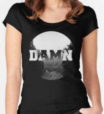 Damn nature, you scary! Women's Fitted Scoop T-Shirt