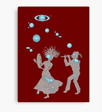 Cosmic Dance with Music of the Spheres Canvas Print