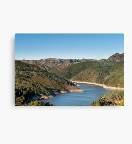 Geres National Park Canvas Print