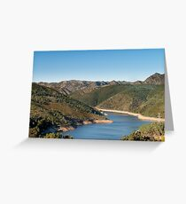 Geres National Park Greeting Card
