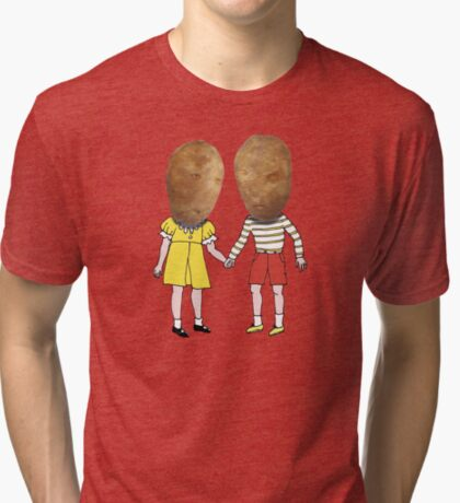 small potatoes Tri-blend T-Shirt
