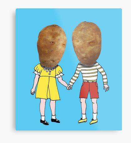 small potatoes Metal Print