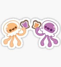 Peanut Butter Jellyfish Love Sticker