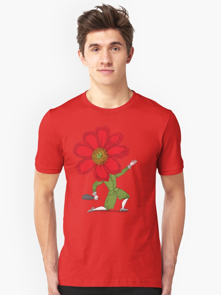 The Poet in Love Unisex T-Shirt Front