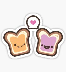 PB & J Amour Sticker