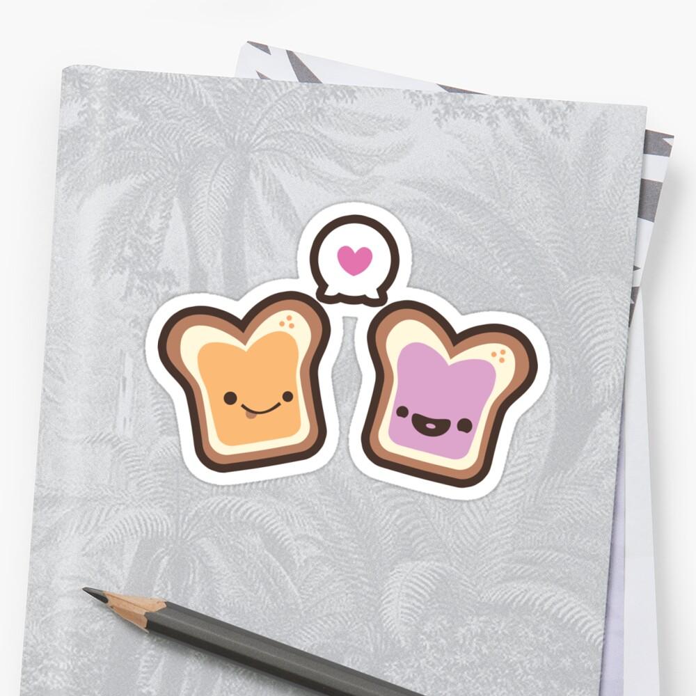 PB&J Love by murphypop