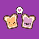 PB&J Love by murphypop