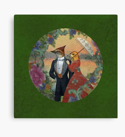 An Evening Stroll Canvas Print