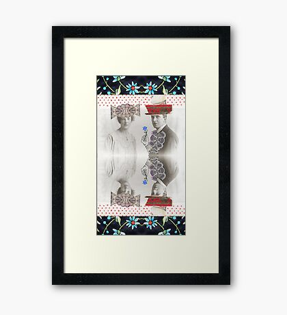 Kublai Khan and Chabui Framed Print