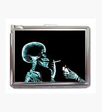 Lámina fotográfica skull smoke