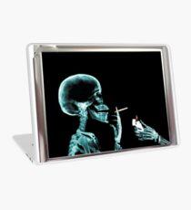 Vinilo para portátil skull smoke