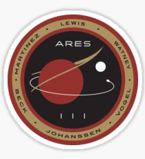 Ares III Mission patch - The Martian Sticker