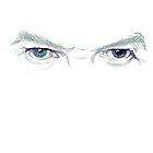 Bowie's eyes by Juana Luján
