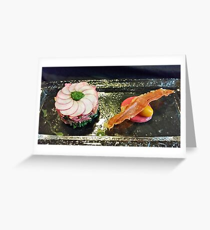 Lunch duo Greeting Card