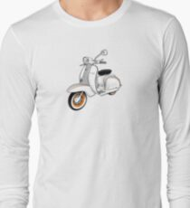 Scooter T-shirts Art: 1961 Series 2 Li 150 Scooter Design Long Sleeve T-Shirt