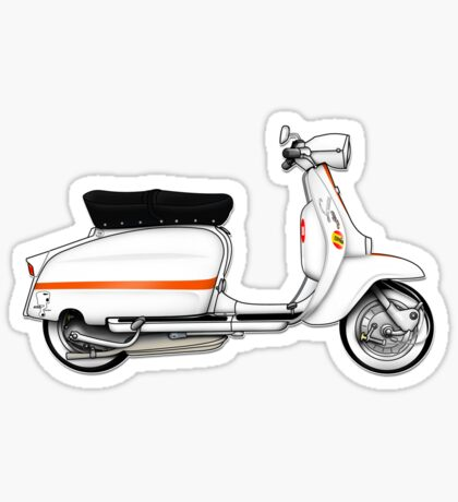 Scooter T-shirts Art: Serveta Li 150 Special Sticker