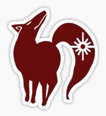 Fox's Sin of Greed Sticker