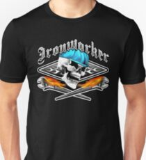 Ironworker Skull 1.0 Unisex T-Shirt