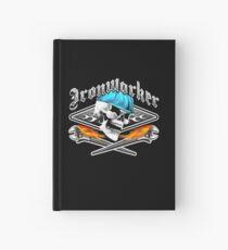 Ironworker Skull 1.0 Hardcover Journal