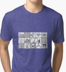 Man Seeking Woman Tri-blend T-Shirt
