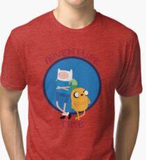 Los Héroes Hermanos Tri-blend T-Shirt