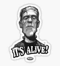 Frankenstein's Monster Sticker