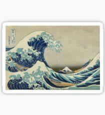 Vintage poster - The Great Wave Off Kanagawa Sticker