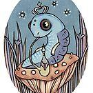 Little Blue Caterpillar by Anita Inverarity