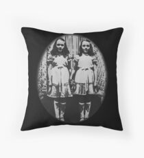 The Shining - Twins Throw Pillow