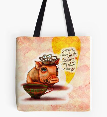 WHAT MY COFFEE SAYS TO ME DECEMBER 30, 2015 Tote Bag