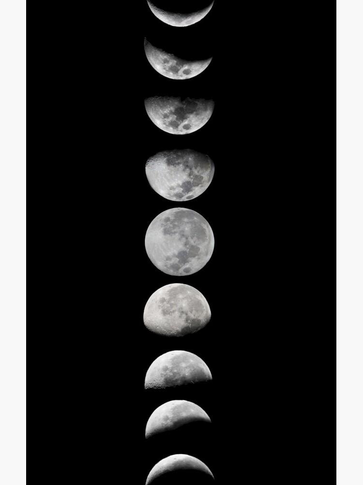 Moon phases by MartaOlgaKlara